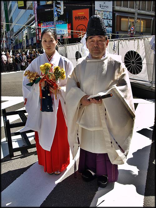 Male Shinto Priest 78